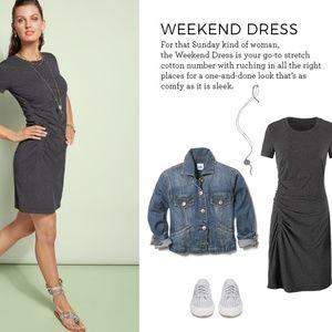 EUC CAbi weekend dress M